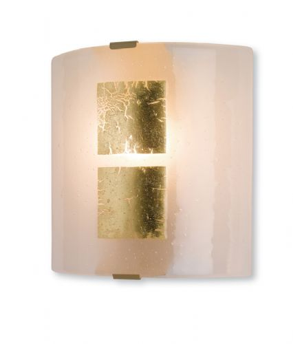 Firstlight 4251GO Gold Leaf on Murano Glass Murano Glass Wall Light